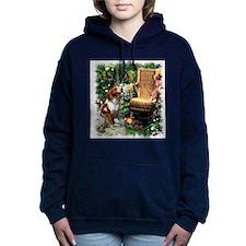 garden gate brittany 2.png Hooded Sweatshirt