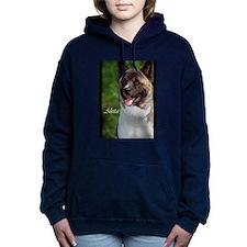 AKITA ART rect.png Hooded Sweatshirt