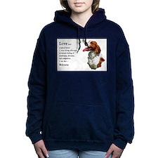 love is brittany redo.png Hooded Sweatshirt