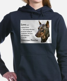 see also doberman pinscher.png Hooded Sweatshirt