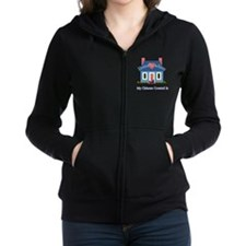 Chinese Crested Home Zip Hoodie