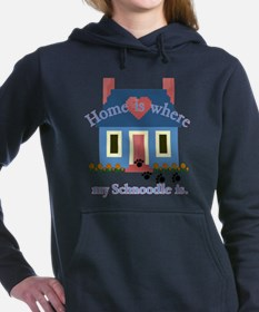schnoodle home is.png Hooded Sweatshirt