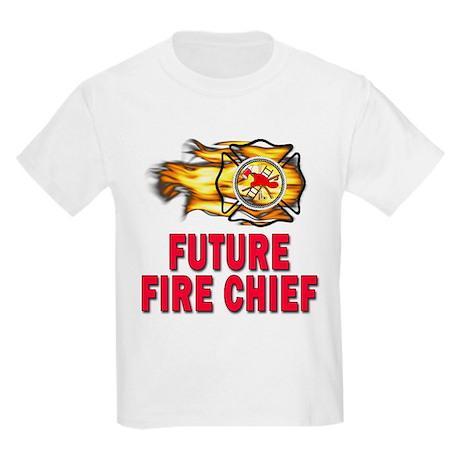 Future Fire Chief Kids Light T-Shirt