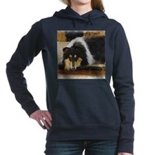 she waits september.png Hooded Sweatshirt
