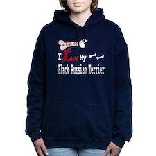 NB_Black Russian Terrier Hooded Sweatshirt