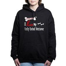 NB_Curly Coated Retriever Hooded Sweatshirt