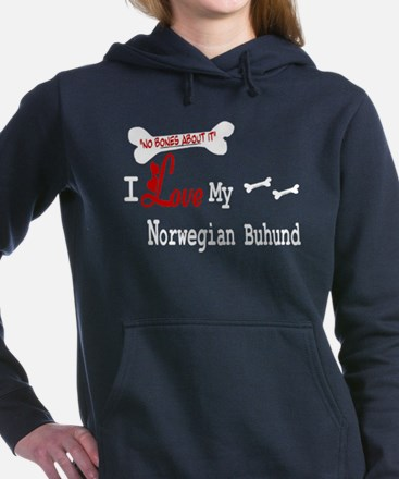 NB_Norwegian Buhund Hooded Sweatshirt