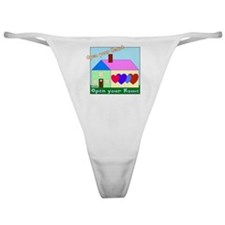 Open your Heart Classic Thong