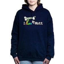 NO BONES MUTT 2.png Hooded Sweatshirt