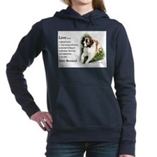 Saint Bernard Gifts Hooded Sweatshirt
