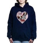 Cavalier Puppy Love Hooded Sweatshirt