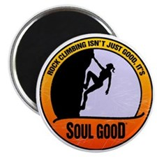 Rock Climber female - Soul Good Magnet