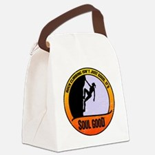 Rock Climber female - Soul Good Canvas Lunch Bag