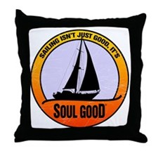 Sailing - Soul Good Throw Pillow