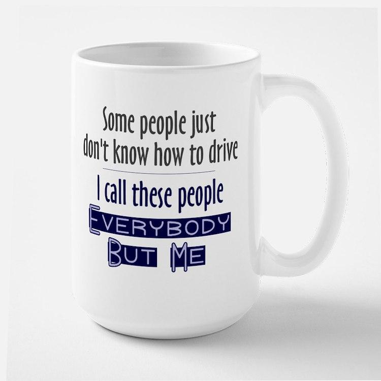 Bad Drivers (Blue) Mug