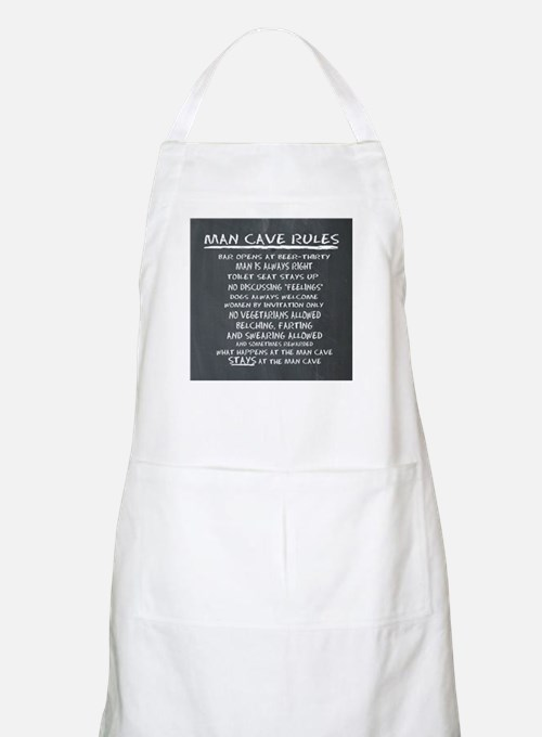 Man Cave Rules Apron