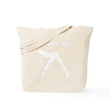 Custom Exotic Dancer Silhouette Tote Bag