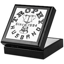 Trophy Husband Since 1994 Keepsake Box