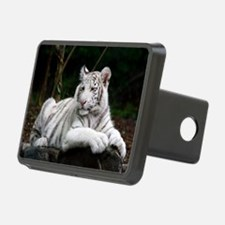 White Tiger Cub Hitch Cover