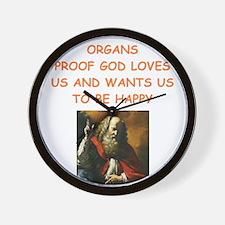 organ Wall Clock