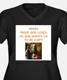 oboe Plus Size T-Shirt