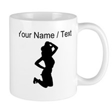 Custom Sexy Cowgirl Silhouette Mugs