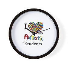 Autistic Students Wall Clock