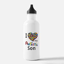 Autistic Son Water Bottle