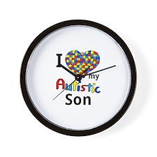 Autistic Son Wall Clock