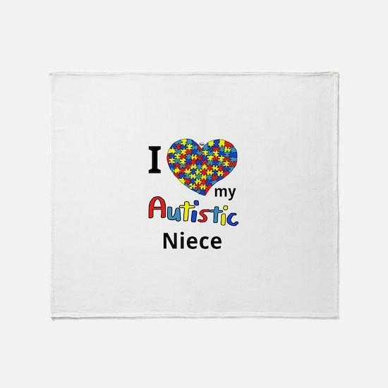 Autistic Niece Throw Blanket