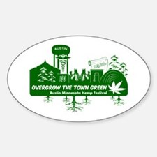 Overgrow the Town Green - Austin MN Hemp Fest Stic
