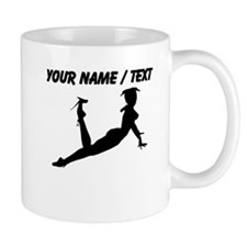 Custom Hot Model Silhouette Mugs