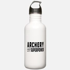 Archery Is My Superpower Water Bottle