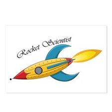Rocket Scientist Postcards (Package Of 8)