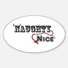 Naughty Not Nice Decal
