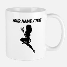 Custom Sexy Devil Silhouette Mugs