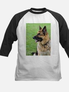 German Shepherd Profile Baseball Jersey