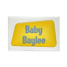 Baby Baylee Rectangle Magnet