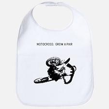 motocross grow a pair Bib