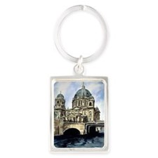 Berlin Cathedral Portrait Keychain