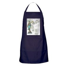 Lady Justice on Satin and Ivy Apron (dark)