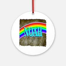 Noah Ornament (Round)
