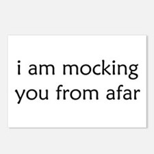 Mocking From Afar Postcards (Package of 8)