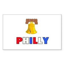 Philly Rectangle Decal