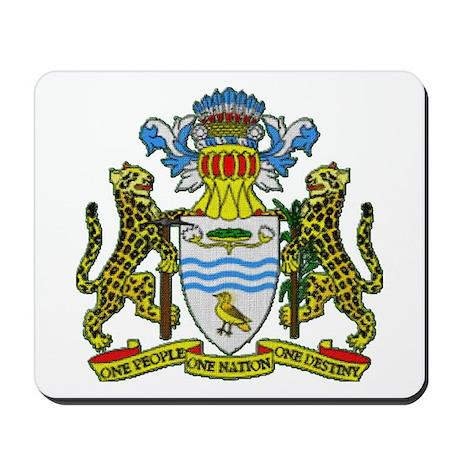 Guyana Coat of Arms Mousepad