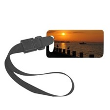 Morning Catch Luggage Tag