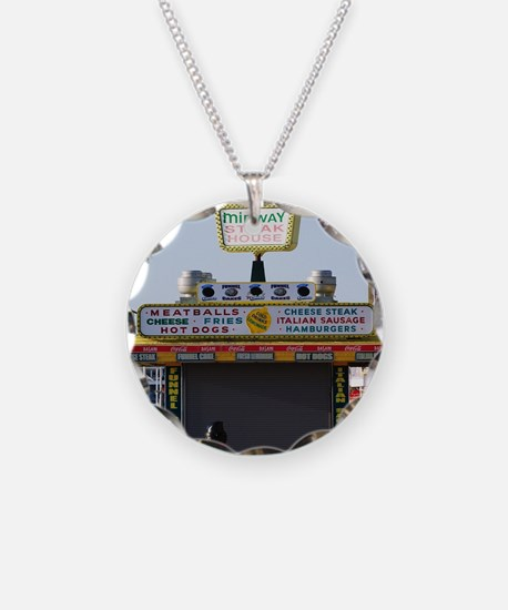 Midway Steak House Necklace