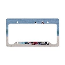 Life Guard Seaside Heights Be License Plate Holder