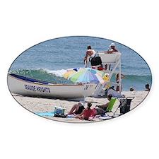 Life Guard Seaside Heights Beach Decal