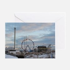 Fun Town Pier Seaside Park Jersey Sh Greeting Card